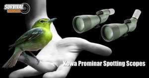 Outdoor Gadgets tips #4: Kowa Prominar Spotting Scopes