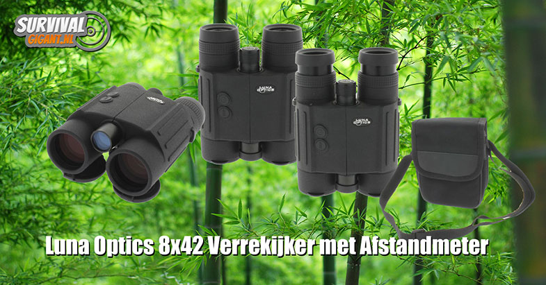 Luna Optics verrekijker en afstandmeter in 1!