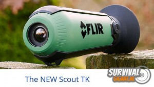 Nieuw: FLIR Scout TK warmtebeeldcamera