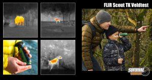 Flir Scout TK Veldtest