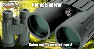 Verrekijker #6: Konus Emperor; Keizer onder de verrekijkers!