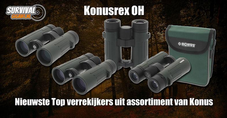 Verrekijker #7: Konusrex OH 8x42 én 10x4