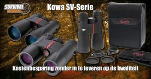 Verrekijker #3: Kowa SV verrekijkers; Gericht op zicht!