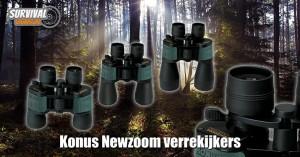 Verrekijker #1: Konus Newzoom verrekijkers