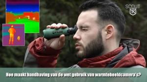 Hoe maakt handhaving van de wet gebruik van warmtebeeldcamera's?
