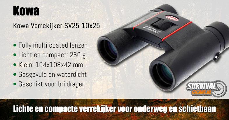 Kowa Verrekijker SV25 10x25