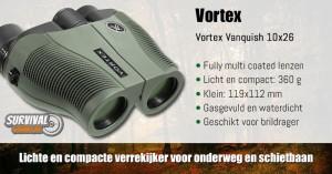 Vortex Vanquish 10x26 Verrekijker