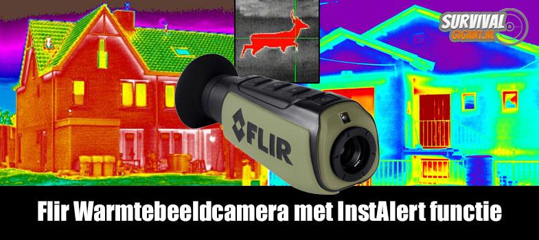 Flir Warmtebeeldcamera met InstAlert functie