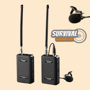 Saramonic SR-WM4C VHF compacte en lichte draadloze microfoon set