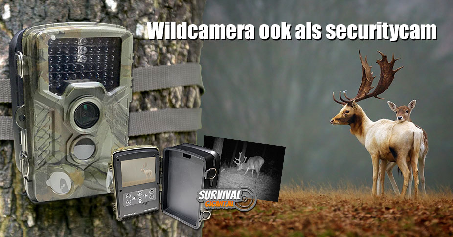 Wildcamera kopen; Outdoor Club Wildcamera Night vision